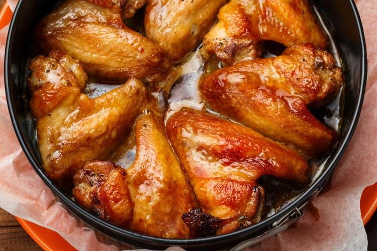 أجنحة الدجاج على الطريقة اليابانية