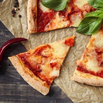بيتزا الطاسة بالخضار