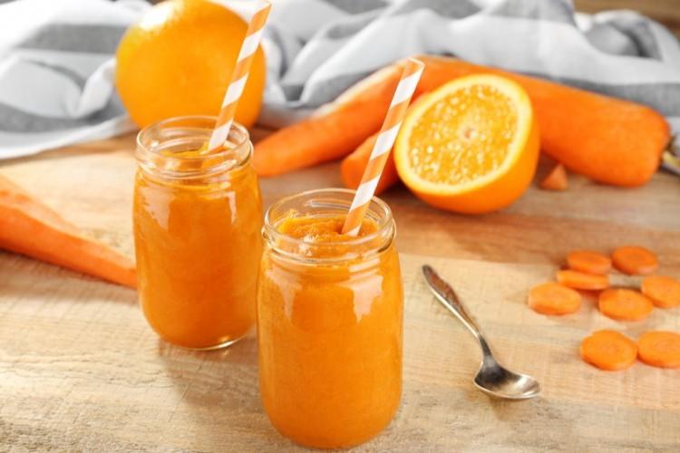 عصير البرتقال بالجزر لمناعة قوية