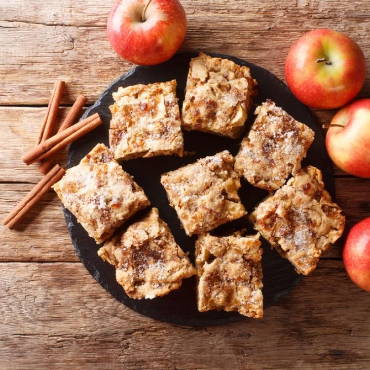 براونيز صحي بالتفاح