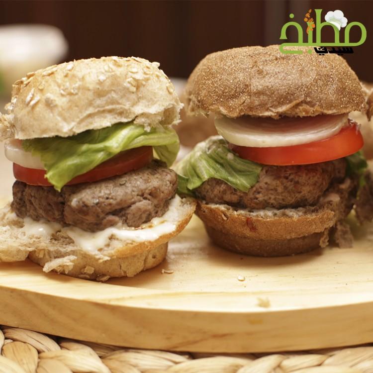 برغر اللحم الصحي خطوة بخطوة بالصور