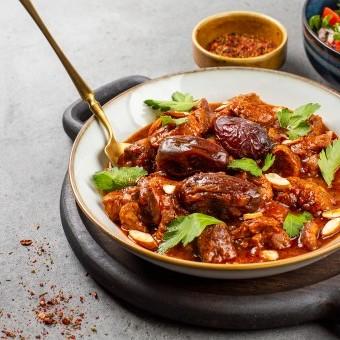 طاجن اللحم المغربي