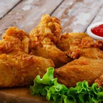 دجاج بروستد على طريقة المطاعم