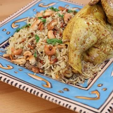 أرز الأوزي مع منال العالم بالفيديو