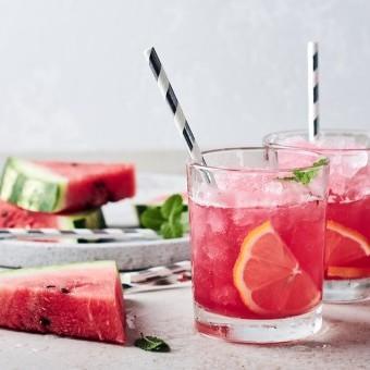 عصير البطيخ بالليمون