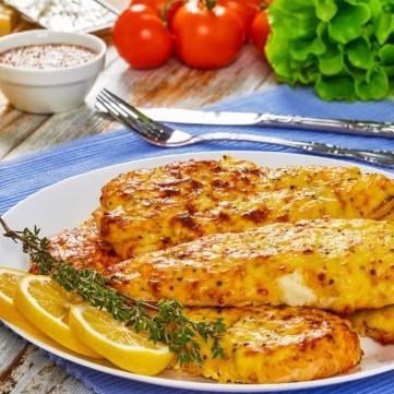 دجاج تندر مشوي بالخردل لمرضى السكري
