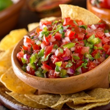 تغمسية الطماطم المكسيكية