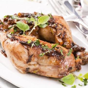 دجاج مشوي بالأوريغانو للرجيم