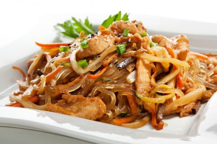 لحم كانتون الصيني
