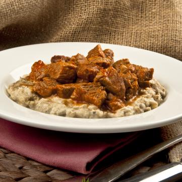 علي نازك باللحم من المطبخ التركي