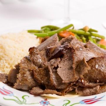 شاورما اللحم بدهون أقل للرجيم