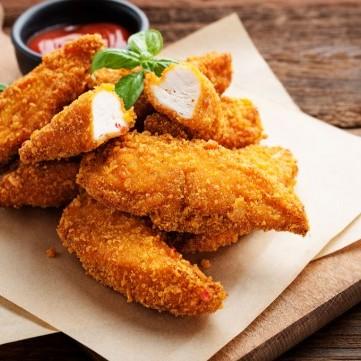 كرسبي دجاج مشوي للدايت