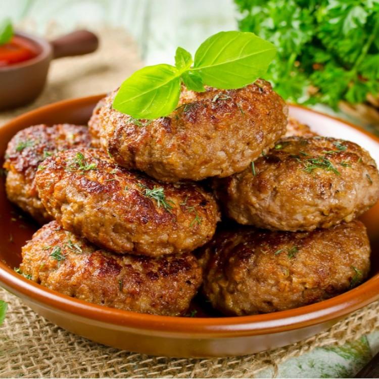 كرات اللحم المشوية مع الشوفان للرجيم