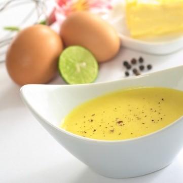 صلصة الليمون بالزبدة للمأكولات البحرية