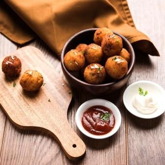 كرات البطاطس الهندية