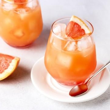عصير جريب فروت مع برتقال