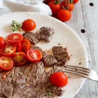 شرائح اللحم المطبوخة بالفخار للرجيم