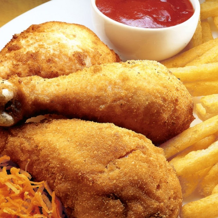 دجاج تكساس المقرمش