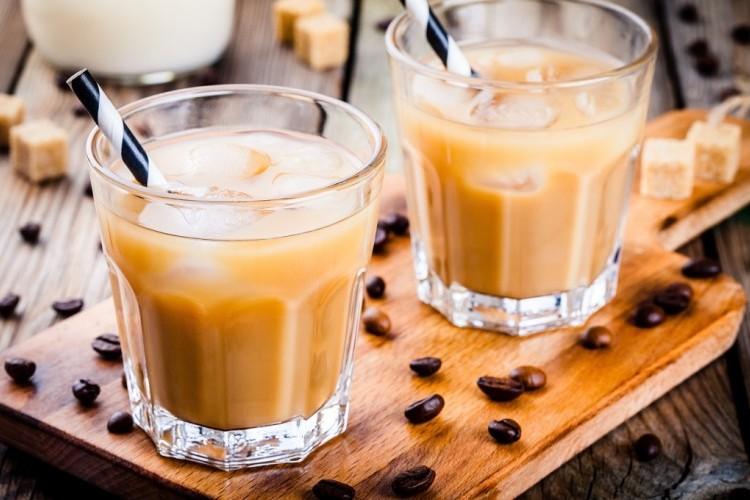 قهوة باردة سريعة التحضير