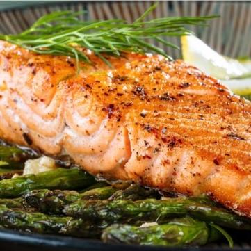 تتبيلة سمك السلمون