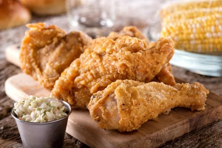 دجاج بروستد مقلي
