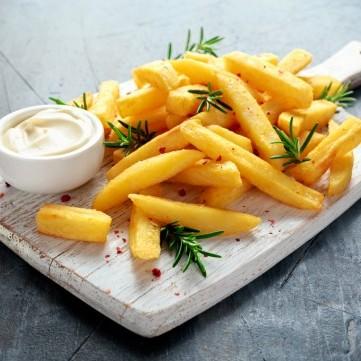 نوع البطاطس المناسب للقلي