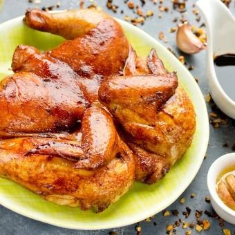 دجاج مشوي بالصويا صوص للرجيم