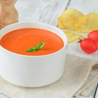 شوربة الطماطم المشوية