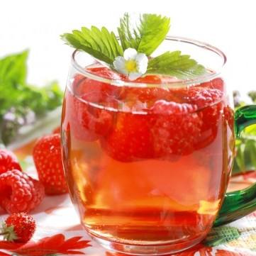 الشاي المثلّج بنكهة التوت