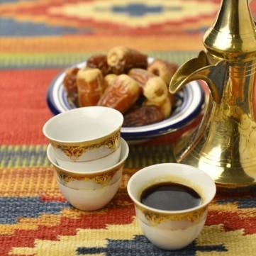 طريقة عمل القهوة العربية الأردنية لضيافة العيد