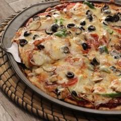 بيتزا الخضار السهلة بالفيديو