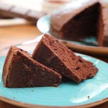 كيكة الشوكولاتة الاسفنجية بالفيديو