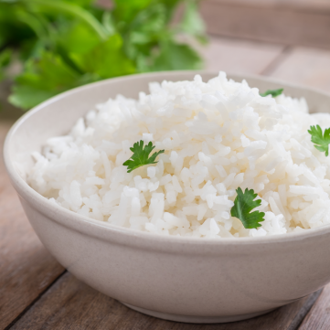 الأرز الأبيض بدون زيت للرجيم