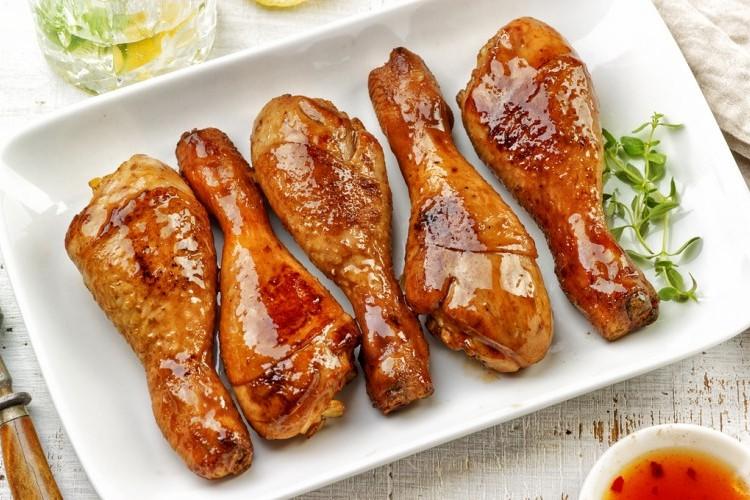 دجاج آسيوي بالعسل