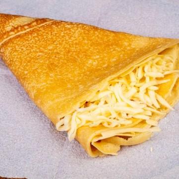 الكريب مع الجبن