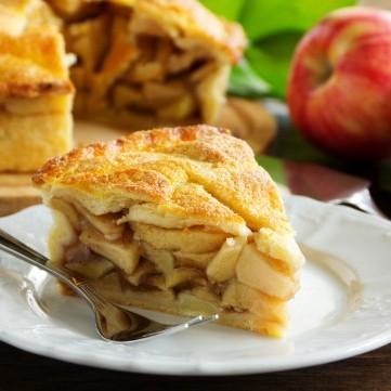 فطيرة التفاح السهلة