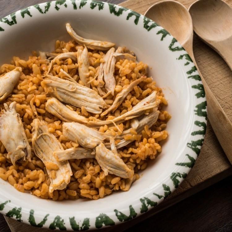 دجاج بالبرغل وجبة مثالية للرجيم