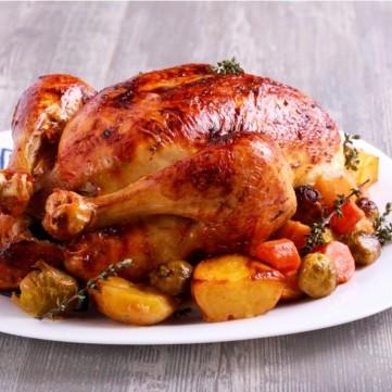 دجاج محشي بالخضار