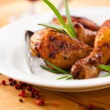 دجاج محمر بالأعشاب للرجيم