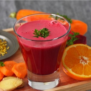 عصير الشمندر بالبرتقال