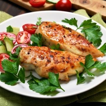 دجاج بالتتبيلة الحارة لرجيم متوازن