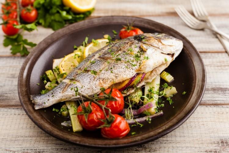 تتبيلة سمك مشوي للرجيم