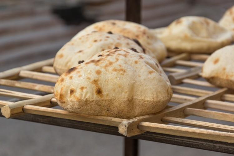 الخبز البلدي المنزلي