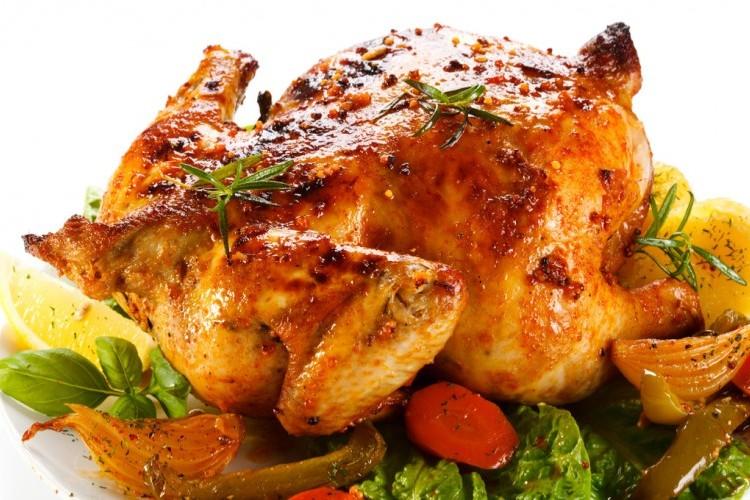 دجاج مشوي مع الروزماري