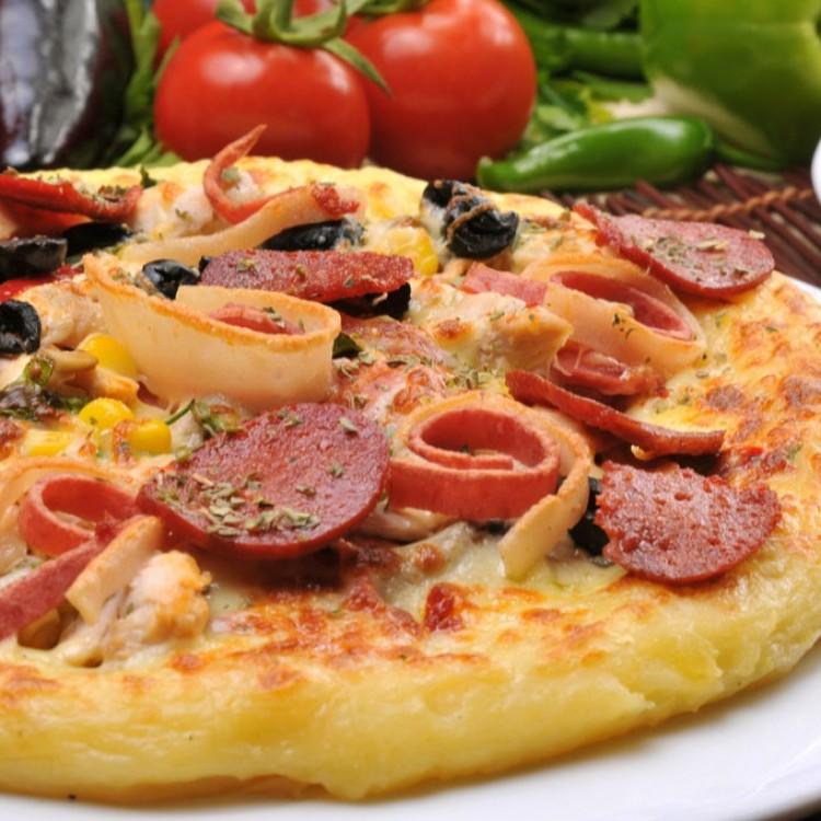 بيتزا البطاطس