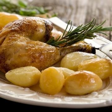صينية الدجاج والبطاطس
