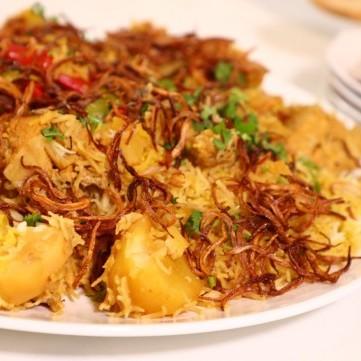أرز زربيان العدني التقليدي