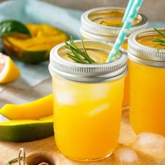 عصير برتقان فوار