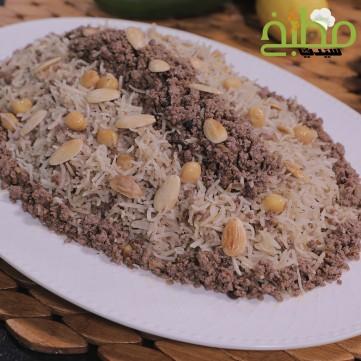 أرز مبهر باللحمة المفرومة خطوة بخطوة بالصور