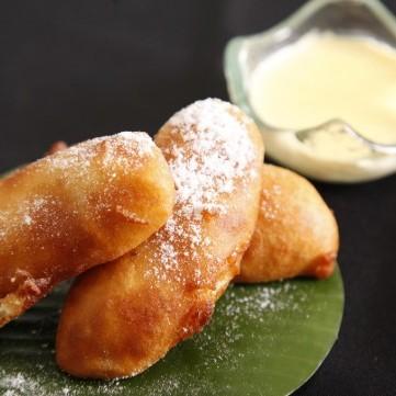 الموز المقلي الصيني بالعسل